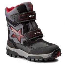 Geox Chlapecké zimní boty Himalaya - černé