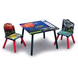 Delta Dětský stůl s židlemi Auta