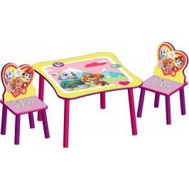 Delta Dětský stůl s židlemi Paw Patrol