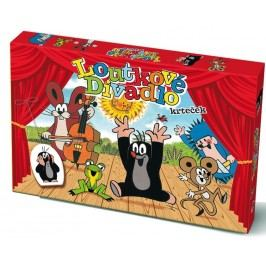 Bonaparte Loutkové Divadlo Krtek papírové 6 ks postaviček
