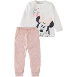 Name it Dívčí pyžamo s Minnie - růžovo-bílé