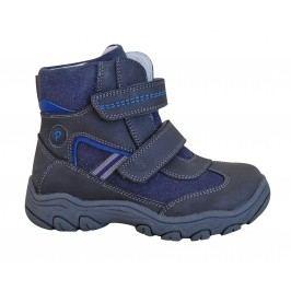 Protetika Chlapecké zimní boty Arko - šedo - modré