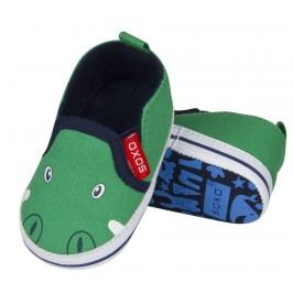 SOXO® Chlapecké bačkůrky s krokodýlem - zelené
