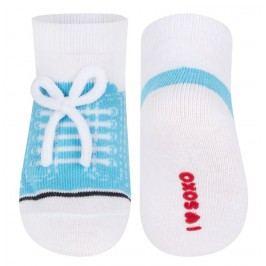 SOXO® Chlapecké ponožky Tenisky - modré