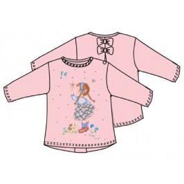 Carodel Dívčí tričko s holkou - růžové