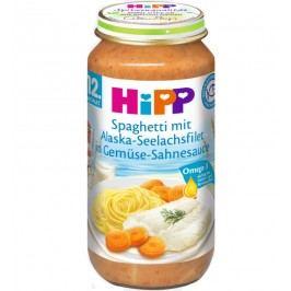 HiPP Špagety s treskou a zeleninou ve smetanové omáčce 6x250g