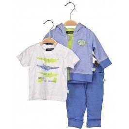 Blue Seven Chlapecký kojenecký set - modro-bílý