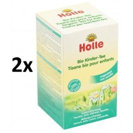 Holle BIO dětský čaj 2×30g