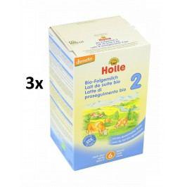 Holle BIO dětská mléčná výživa 2 - 3x600g
