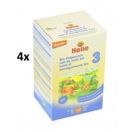 Holle BIO dětská mléčná výživa 3 - 4x600g
