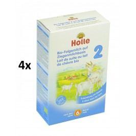 Holle BIO dětská mléčná výživa na bázi kozího mléka 2 - 4x400g