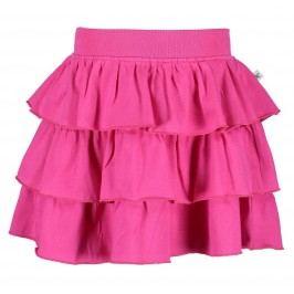 Blue Seven Dívčí sukně s volány - růžová