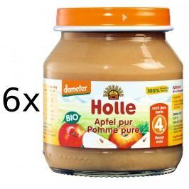 Holle BIO příkrm jablíčko 6x125g