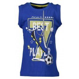 Blue Seven Chlapecké tílko Fotbal - modré