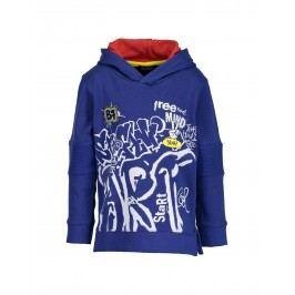 Blue Seven Chlapecká mikina Graffiti - modrá