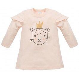 Pinokio Dívčí tunika Sweet Panther - světle oranžová