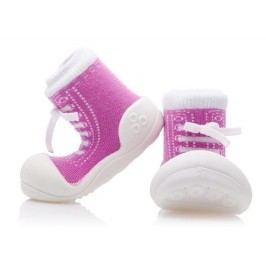 Attipas Dívčí botičky Sneakers - růžové
