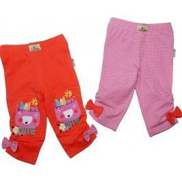 Gelati Dívčí set 2 ks capri kalhot Camp Girl - barevný