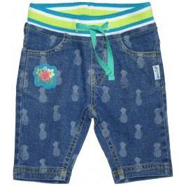 Gelati Dívčí capri kalhoty Honolulu - modré