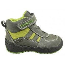 Primigi Chlapecké zateplené boty - šedo-zelené
