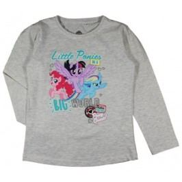 E plus M Dívčí tričko My little Pony - šedé