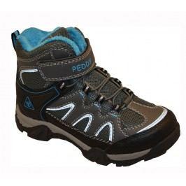 Peddy Chlapecká outdoorová obuv - šedo-modrá