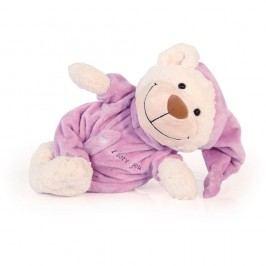 Bayer Design Měkoučký medvídek Spinkánek fialový