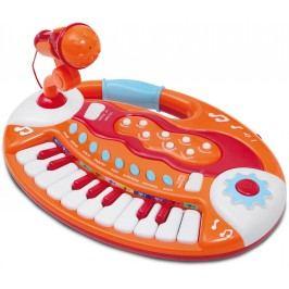 Alltoys Elektronické klávesy s mikrofonem, 18 kláves