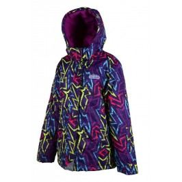 PIDILIDI Dívčí lyžařská bunda - barevná