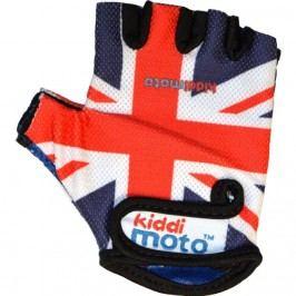 Kiddimoto Cyklistické rukavice Union Jack - střední