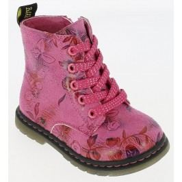 V+J Dívčí kotníkové boty - růžové