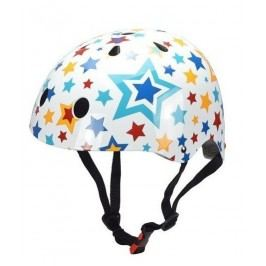 Kiddimoto Cyklistická helma Stars - barevná, velikost M
