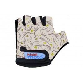 Kiddimoto Cyklistické rukavice Fossil - barevné, velikost S