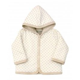 Nini Dětský kabátek s kapucou - béžový