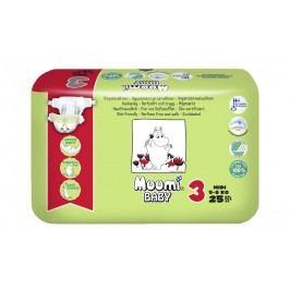 Muumi Baby dětské jednorázové pleny 25ks, MIDI 5-8kg