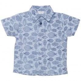 Pinokio Chlapecká košile Sea world - modrá