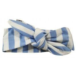 Lamama Chlapecká čelenka Stripes - modro-bílá