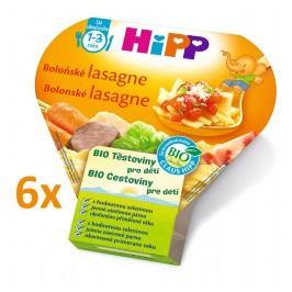 HiPP BIO Boloňské lasagne 6x250g