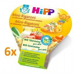 HiPP BIO Mini-Rigatoni se zeleninou  ve smetanové omáčce 6x250g