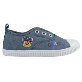 Disney Brand Chlapecké plátěné tenisky Paw Patrol - modré