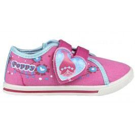Disney Brand Dívčí plátěné teniskyTrollové - růžové