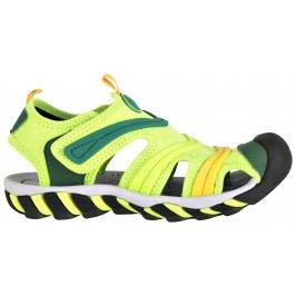 ALPINE PRO Chlapecké sandály Jordan - zelené