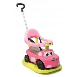 Smoby Odrážedlo Auto růžové elektronické