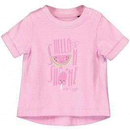Blue Seven Dívčí tričko s melounem - růžové