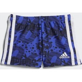 adidas Chlapecké plavky - modro-černé