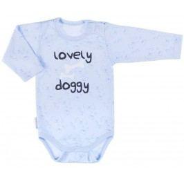 Ewa Klucze Chlapecké body Lovely doggy - modré