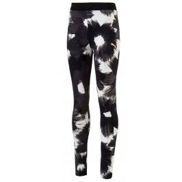 Puma Dívčí legíny Style- černo-bílé