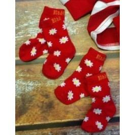 Blade & Rose Dívčí set 2párů ponožek - červený