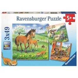 Ravensburger Čas na objetí 3x49 dílků
