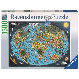 Ravensburger Kreslená země 1500 dílků